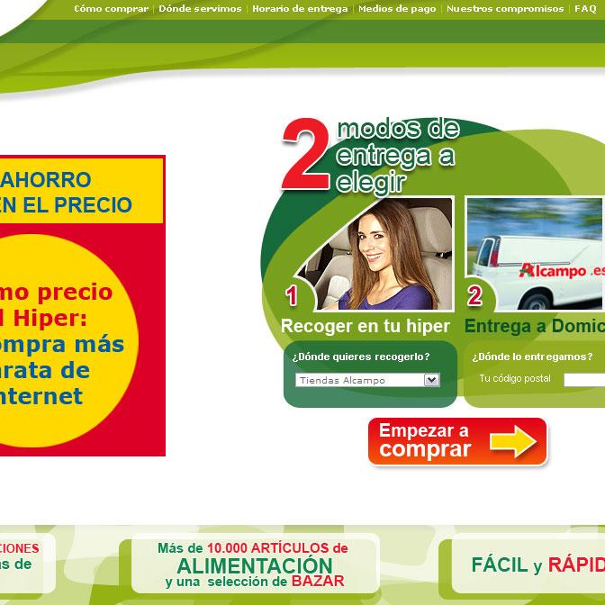 Alcampo alimentaci n lureka dise o web madrid - Precios electrodomesticos alcampo ...