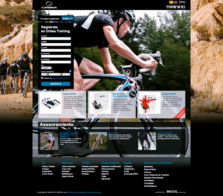 portada Orbea Training